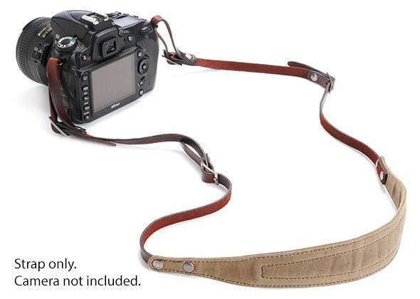 ONA LIMA  Camera Strap - Field Tan      (ONA5-015RT)