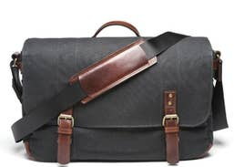 ONA Union Street Messenger Bag (Black)  ONA5-003BL