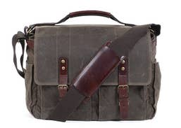 ONA Astoria Camera & Laptop Messenger Bag (Dark Tan)   ONA5-020RT