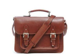 ONA - The Brooklyn Shoulder Bag  - Chestnut - ONA007BR  -  Stock Limited - Be Quick!