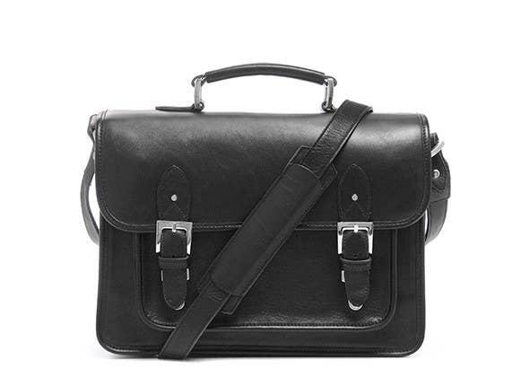 ONA - The Brooklyn Shoulder Bag  - Black -  ONA007BL