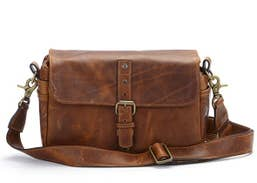 ONA Bowery Camera Bag (Antique Cognac - Leather)   ONA014LBR
