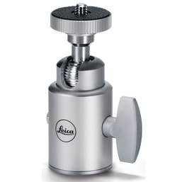 Leica ball head 18 - small - silver anodized finish