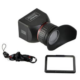 GGS Perfect Foldable LCD Viewfinder 3X Magnification