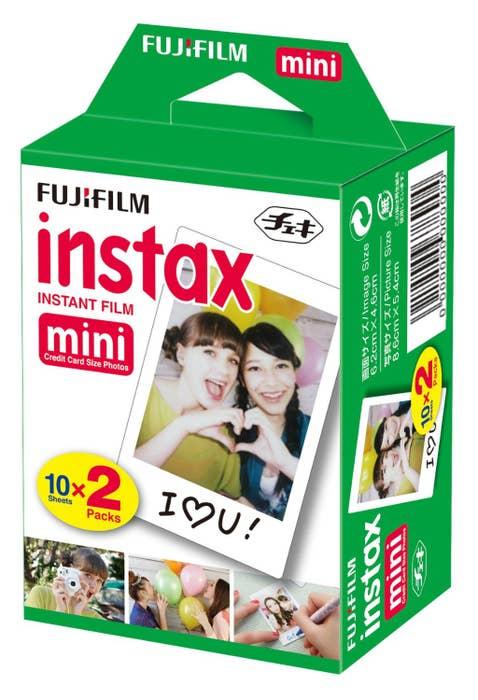 Fujifilm INSTAX Film Mini - 20 pack
