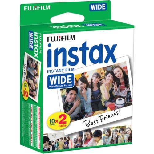Fujifilm Instax Wide Instant Film Twin Film Pack - 20 Sheets