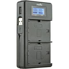Jupio USB Dedicated Duo Charger with LCD for Nikon EN-EL14A Batteries