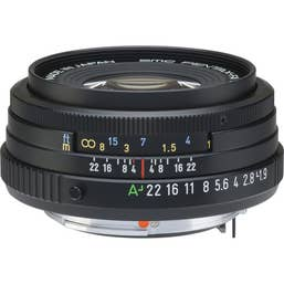 Pentax FA 43mm F/1.9 LTD Camera Lens - Black (20180)