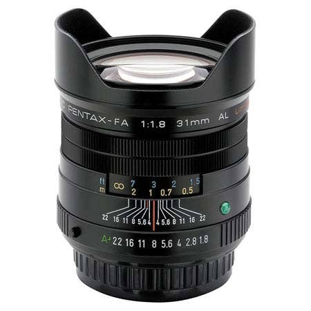 Pentax FA 31mm F/1.8 LTD Camera Lens - Black (20290)