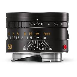 Leica Summarit-M 50mm F2.4 Black Lens