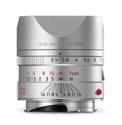 Leica Summarit-M 50mm F2.4 Silver Lens