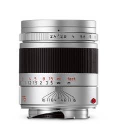 LeicaSummarit-M 75mm F2.4Silver Lens