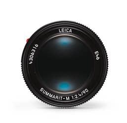 Leica Summarit-M 90mm F2.4 Black Lens