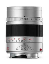 Leica Summarit-M 90mm F2.4 Silver Lens
