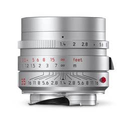 Leica Summilux-M 35mm F1.4 ASPH Silver Lens