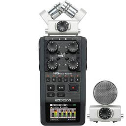 Zoom H6 Handy Recorder with Interchangeable Microphone System  (FXR006)