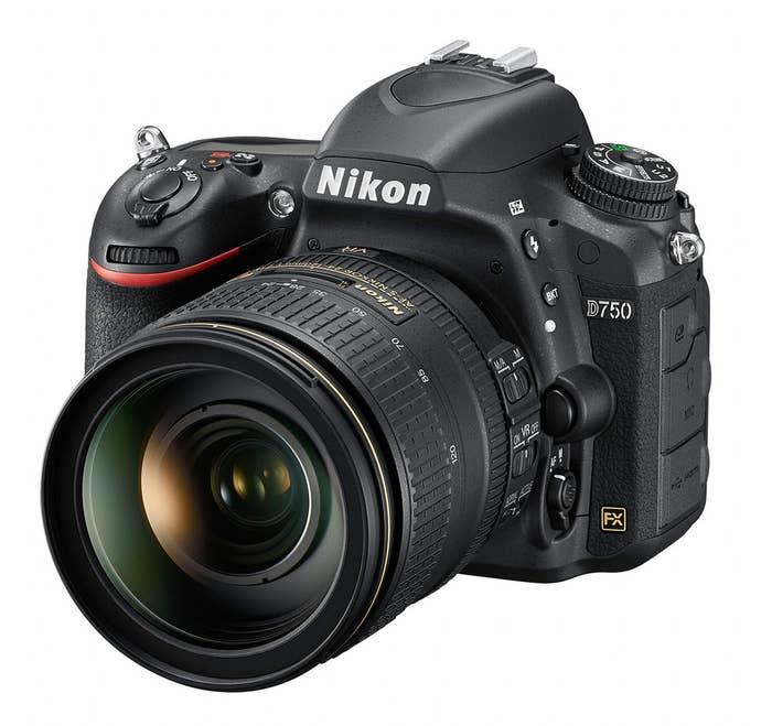 Nikon D750 Digital SLR Camera and AF-S NIKKOR 24-120mm f/4G ED VR Lens