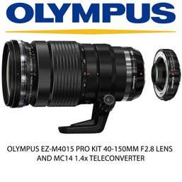 OLYMPUS EZ-M4015 PRO KIT 40-150MM F2.8 LENS + MC14 1.4x TELECONVERTER