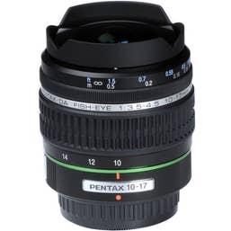 Pentax DA 10-17mm F/3.5-4.5 Fisheye Camera Lens (21580)