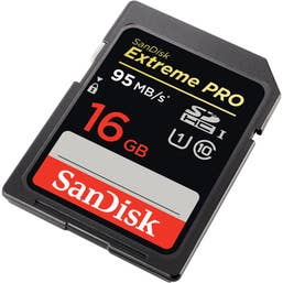 SanDisk EXTREME® PRO™SDHC™CLASS 10 95MB/s 16GB (SDSDXPA-016G-Q4)