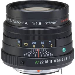 Pentax FA 77mm F/1.8 LTD Camera lens - Black (27980)