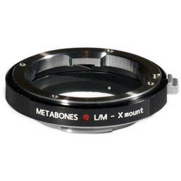Metabones Leica M Lens to Fujifilm X-Mount Camera Lens Mount Adapter.  MB-054   (MB_LM-X-BM1)