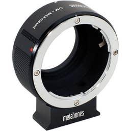 Metabones Olympus OM to Micro 4/3 (Black Matt)   MB-070   (MB_OM-m43-BM1)