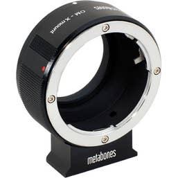 Metabones Olympus OM to X-Mount (Black Matt)    MB-074     (MB_OM-X-BM1)
