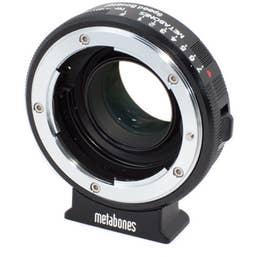 Metabones Speed Booster adaptor- Nikon G to BMCC Micro 4/3   ( MB-068 )