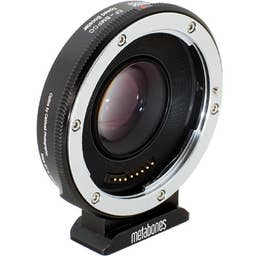 Metabones Speed Booster adaptor- Canon EF to BMPCC Micro 4/3 (Black Matt) MB-087
