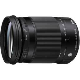 Sigma 18-300mm f/3.5-6.3 DC OS HSM Contemporary Lens for Canon