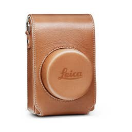 Leica Camera bag for D-Lux (Typ 109) in cognac Leather
