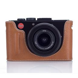 Leica 18820 Leather Protector for D-Lux (Typ 109)  in cognac