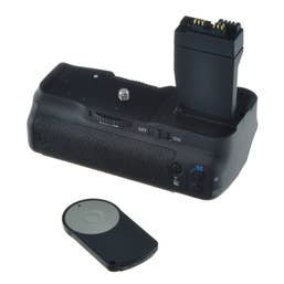 Jupio Battery Grip for Canon EOS 550D/600D/650D/700D incl. remote & AA cylinder