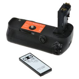Jupio Battery Grip for Canon EOS 5D MK III incl. remote & AA cylinder