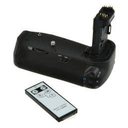 Jupio Battery Grip for Canon EOS 6D incl. remote & AA cylinder