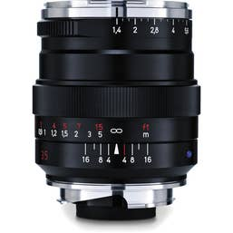 ZEISS DISTAGON T* 35mm f/1.4 ZM Lens - BLACK  for Leica M-Mount