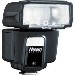 Nissin i40 Compact Flash for Sony Cameras with Multi-Interface Shoe