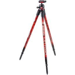 Manfrotto Off Road Aluminum Tripod with Ball Head (Red)  MKOFFROADR