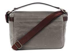 ONA Prince Street Camera & Laptop Messenger Bag - Smoke (ONA5-024GR)