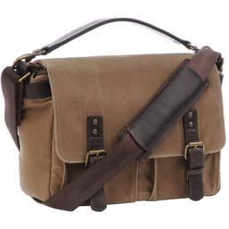 ONA Prince Street Camera and Laptop Messenger Bag - Field Tan    (ONA5-024RT)