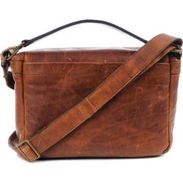 ONA Prince Street Camera and Laptop Messenger Bag - Antique Cognac (ONA5-024LBR)