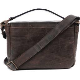 ONA Prince Street Camera and Laptop Messenger Bag - Dark Truffle  (ONA5-024LDB)