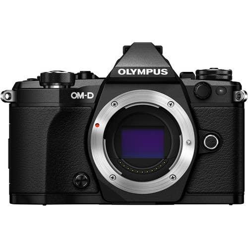 Olympus OM-D E-M5 MKII Micro Four Thirds Digital Camera Body - Black