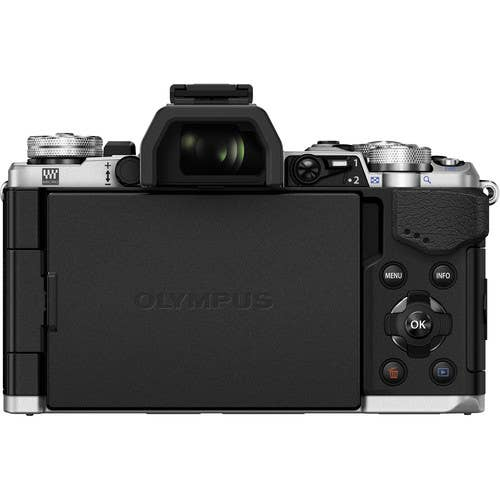 Olympus OM-D E-M5 MKII Micro Four Thirds Digital Camera Body - Silver (ex-demo)