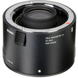 Sigma TC-2001 2.0x Teleconverter for Canon