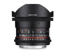 Samyang 12mm T3.1 VDSLR ED AS NCS Fish-Eye Lens for Sony FE Full Frame