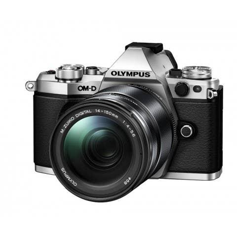 Olympus OM-D E-M5 MKII Adventure Kit ED 14-150mm F4-5.6 II Lens - Silver