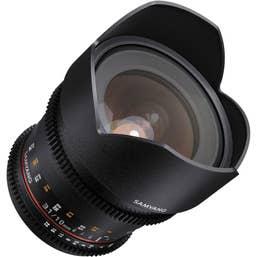 Samyang 10mm T3.1 VDSLR II Lens with Nikon APS-C