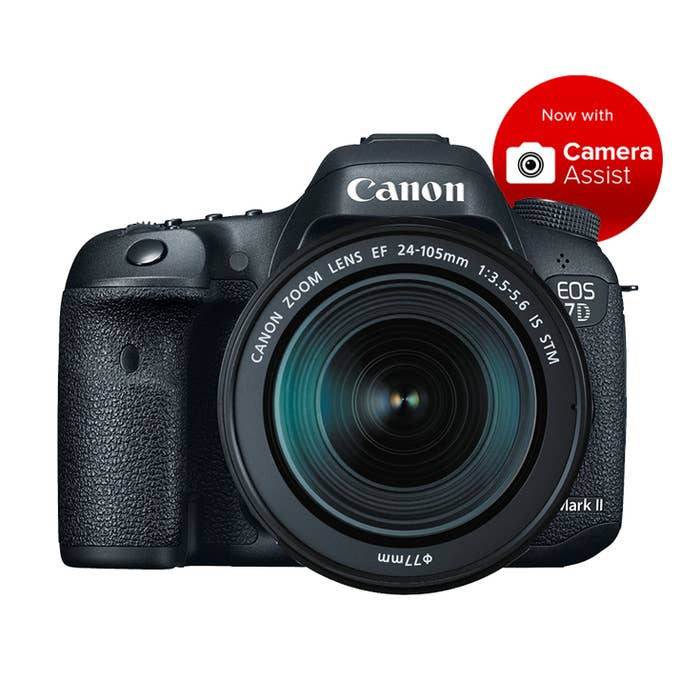 Canon EOS 7D Mark II STM Kit with EF 24-105mm f/3.5-5.6 IS STM Lens